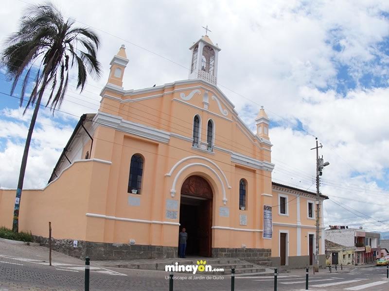 La Iglesia Santa Ana de Nayón