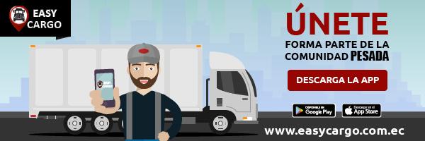EasyCargo la Aplicación Móvil para Contratar fletes y Transporte de Carga Pesada Ecuador